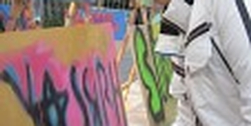 Graffiti Workshop Jongeren - maX Music
